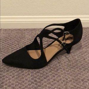 Women's heels; black: 8.5